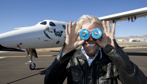 Help Richard Branson Find The Child Who Inspired Virgin Galactic