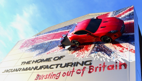 Jaguar Land Rover's Export Success Achieves 2014 Queen's Award For Enterprise