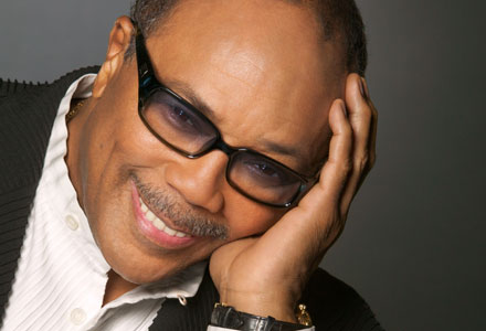 40th Seattle International Film Festival SIFF HONORS LOCAL LEGEND QUINCY JONES WITH LIFETIME ACHIEVEMENT AWARD