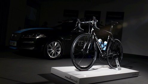 Jaguar has deepened its partnership with Team Sky, the British pro cycling team