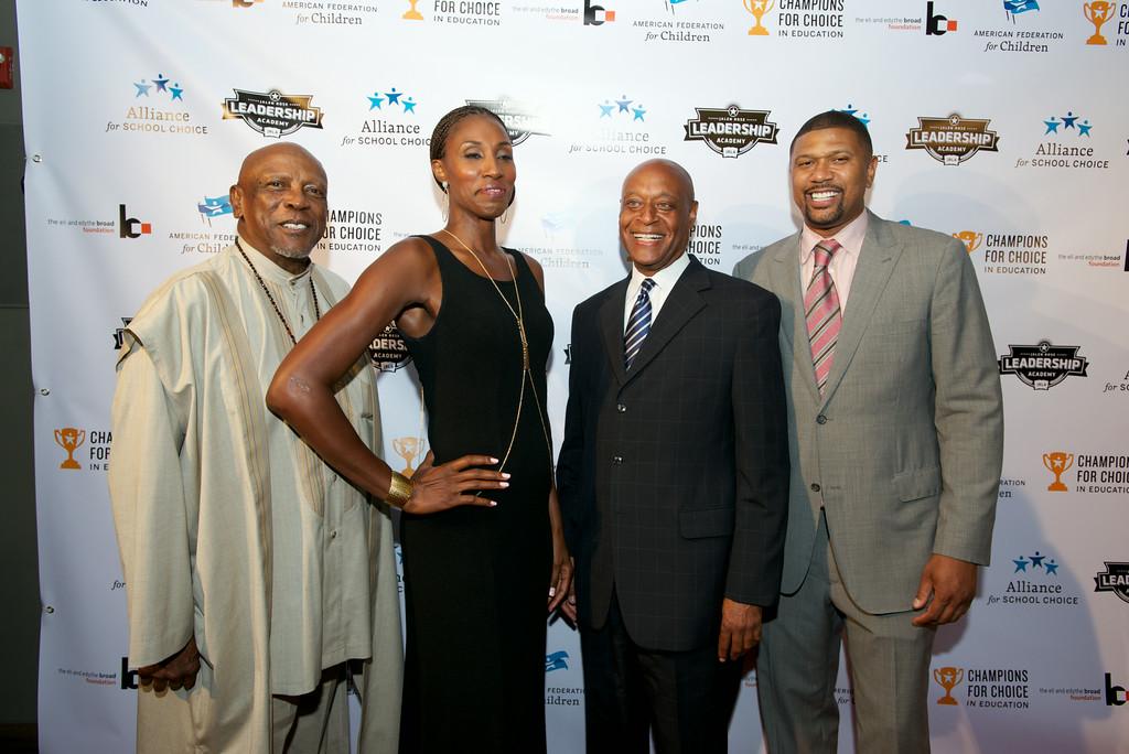 Lisa Leslie & NBA Veteran Jalen Rose Host The 3rd Annual Champions for Choice Pre ESPY Event