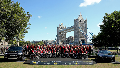 130 British Heroes Go For Gold At Prince Harry's Invictus Games