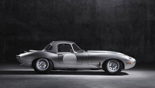 Jaguar Land Rover Special Operations Reveals 'New'Lightweight E-Type