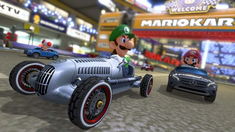 Nintendo Adds Three Mercedes-Benz Cars and Updates to Mario Kart 8