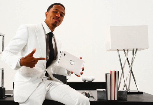 """Nick Cannon on QVC To Promote """"The NCredible Tablet"""" on August 7"""