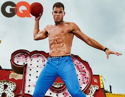 NBA STAR BLAKE GRIFFIN COVERS GQ'S FIRST-EVER AGE ISSUE;  TALKS DONALD STERLING, RELIGION, AND LIFE AFTER BASKETBALL