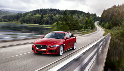 Jaguar Takes Over London to Launch the New XE to the World