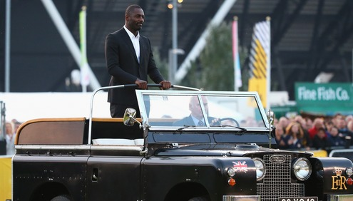 Idris Elba and Historic Land Rover Lead Out the Invictus Games Opening Ceremony