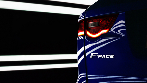 Jaguar F-PACE: An All-New Performance Crossover To Join Line-up In 2016