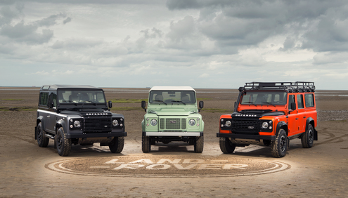 Land Rover Launches A Year Of Defender Celebrations