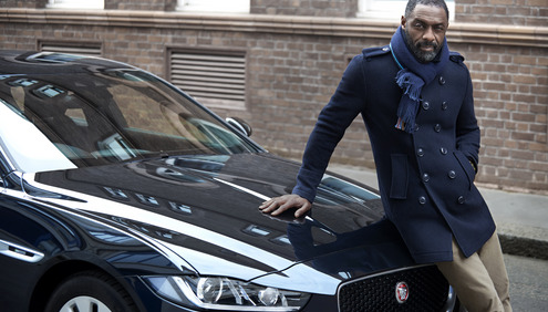 Idris Elba, The New Jaguar XE to the Extreme at Spa-Francorchamps Circuit