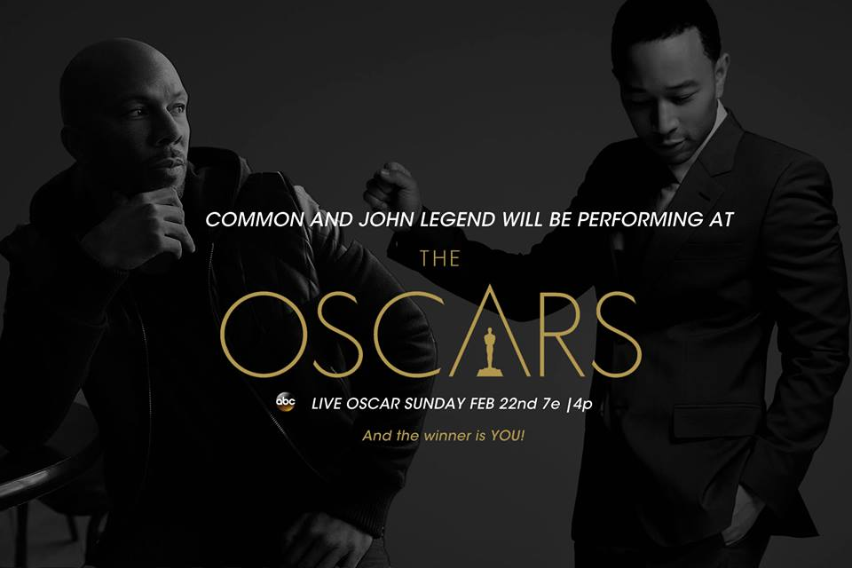 OSCAR NOMINEES COMMON AND JOHN LEGEND TO PERFORM AT THE OSCARS
