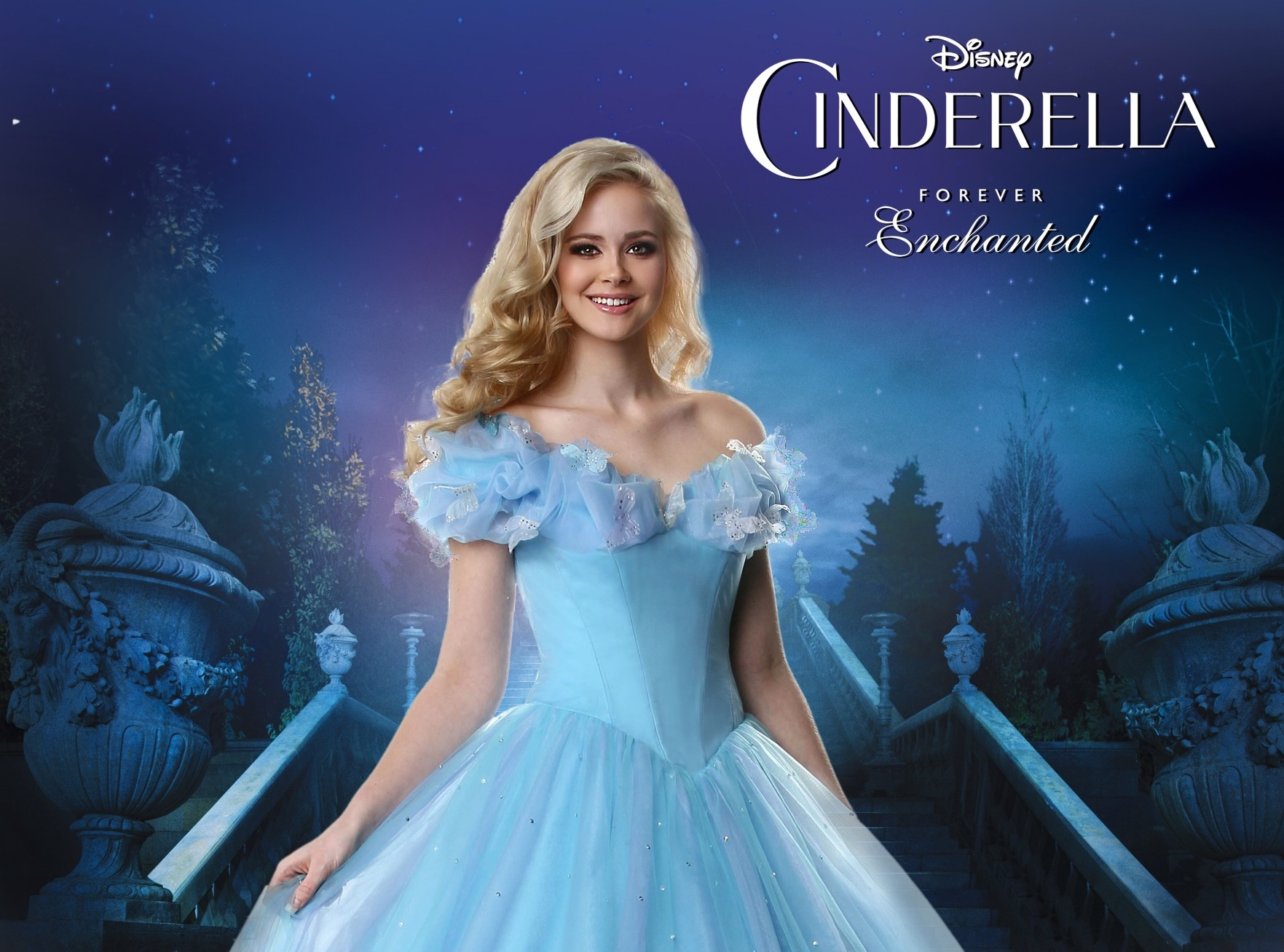 Disney Forever Enchanted Cinderella Keepsake Gown & Prom Dress Collection