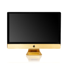 Apple iMac and MacBook Air gold plating service by Goldgenie