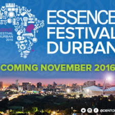 ESSENCE FESTIVAL DURBAN DATES ANNOUNCED: NOVEMBER 2016