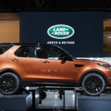 Jaguar Land Rover at the 2016 Paris Motor Show