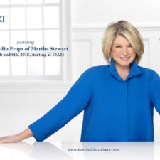 The Martha Stewart Show Kaminski Auction News