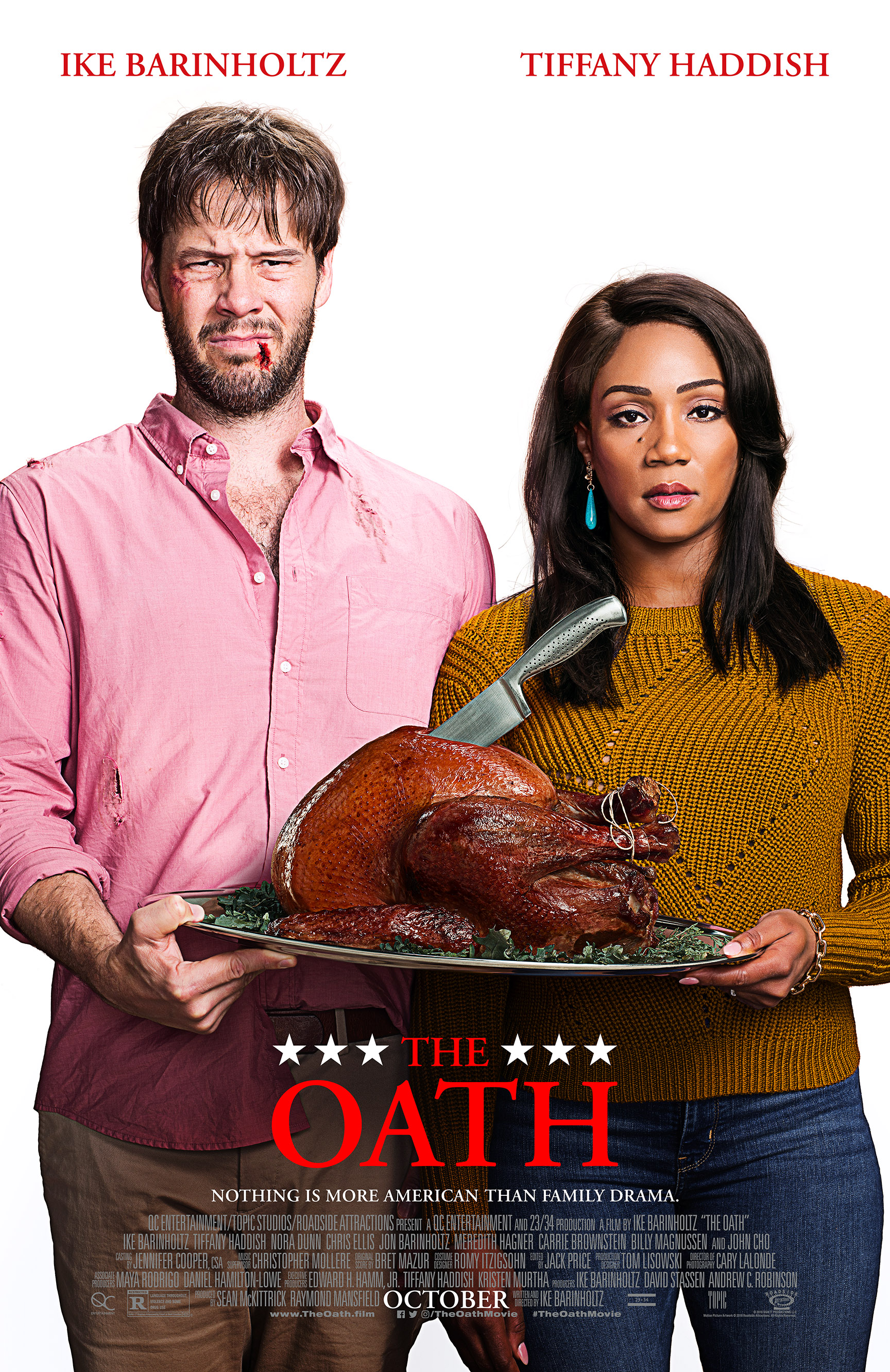 Ike Barinholtz and Tiffany Haddish