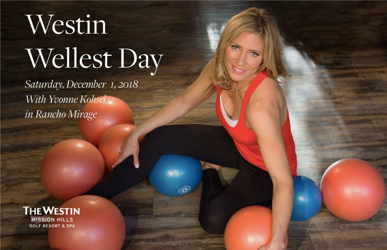 Fitness Expert Yvonne Kohsel Leads Mini Retreat at Resort