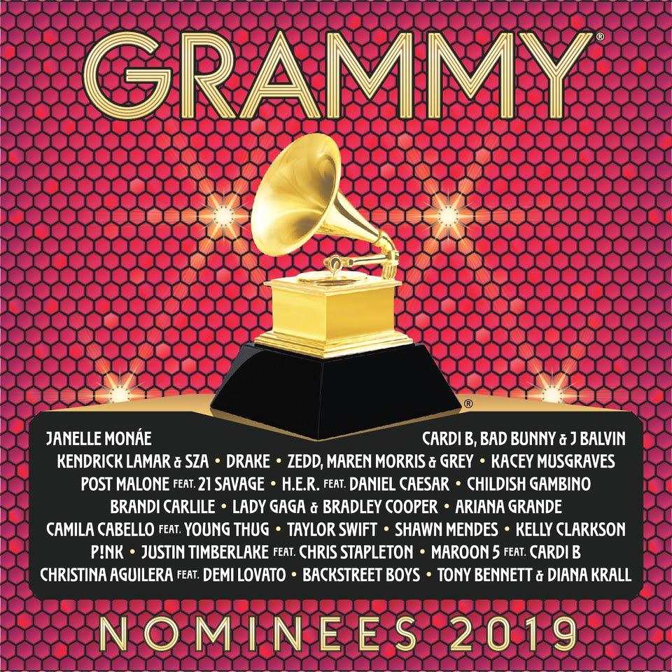 Recording Academy Reveals 2019 GRAMMY Nominees Album Track