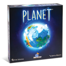 Planet, the 3-D board game you can play IN your hands