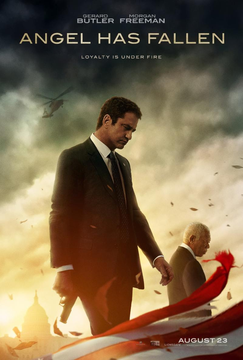 Morgan Freeman, Gerard Butle, ANGEL HAS FALLEN