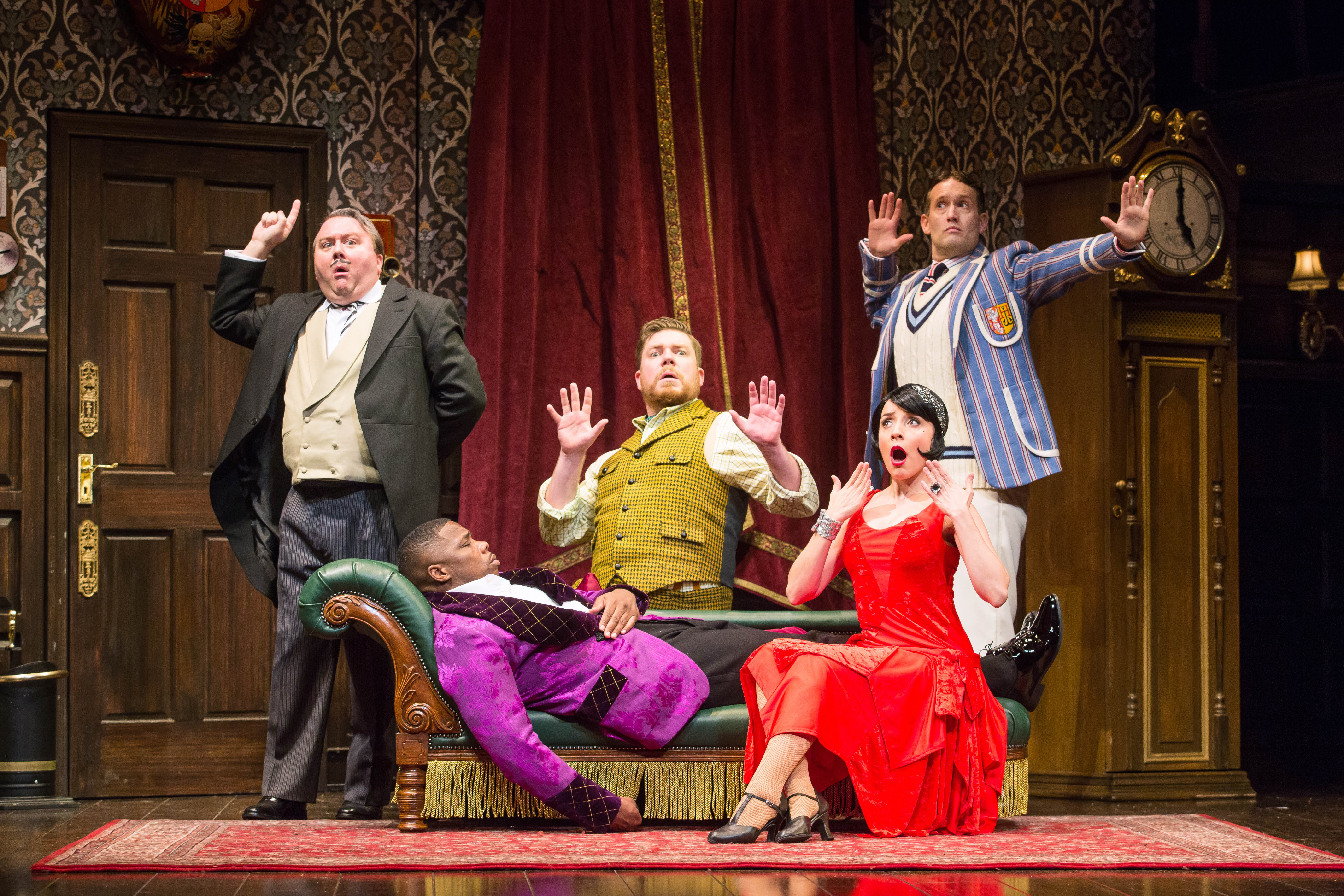 "Center Theatre Group Presents ""The Play That Goes Wrong"""