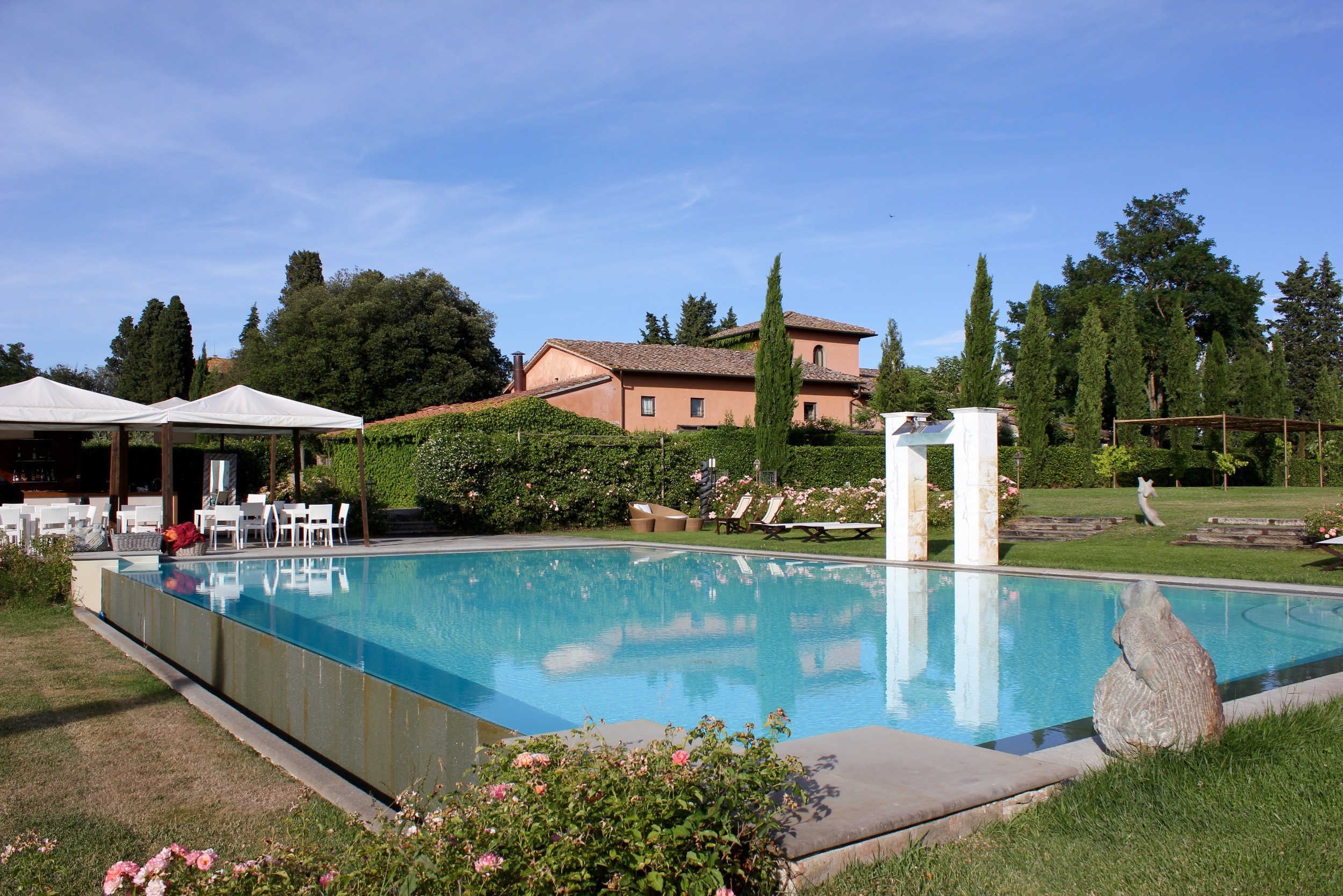 Majestic Villa Mangiacane In the Rolling Hills of Tuscany
