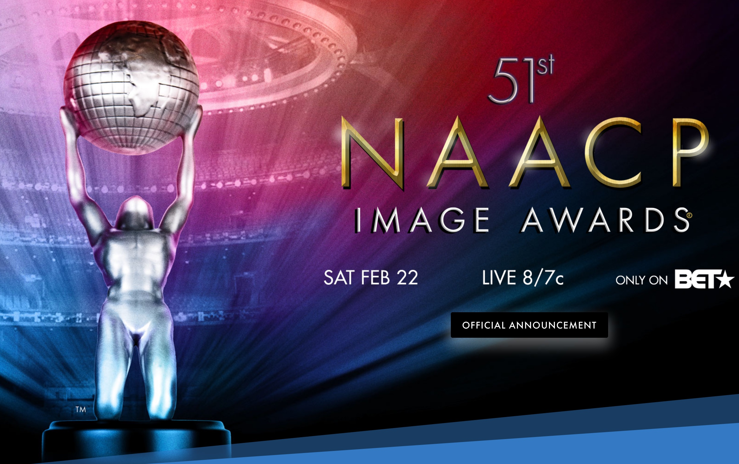 NAACP Image Awards to Air Live on BET Networks