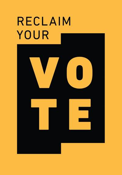 BET Networks announced #ReclaimYourVote