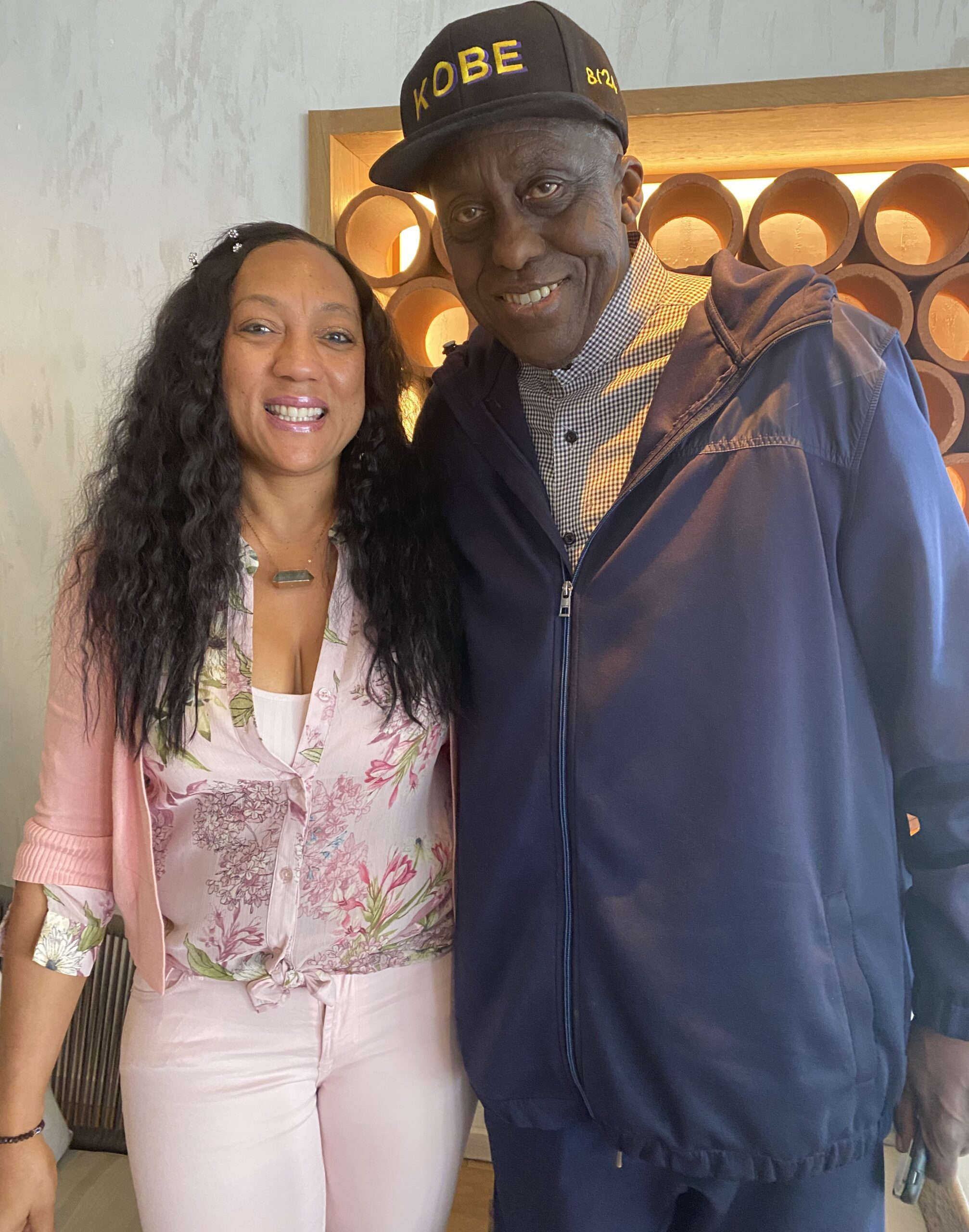 Bill Duke with Lela Christine