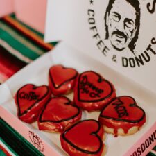 Trejo's Coffee & Donuts, Hollywood Sweet Spot Reveals $40 Valentine's Day Donuts Lineup
