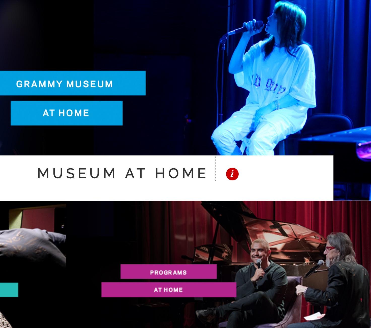 The GRAMMY Museum Debuts Digital Programs Billie Eilish