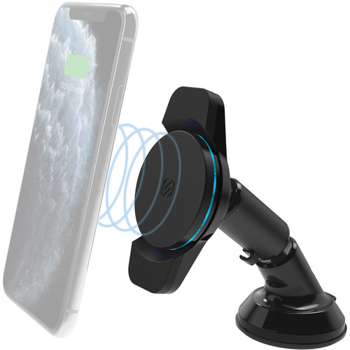 Scosche MagicMount Charge3 Wireless Charging Dash