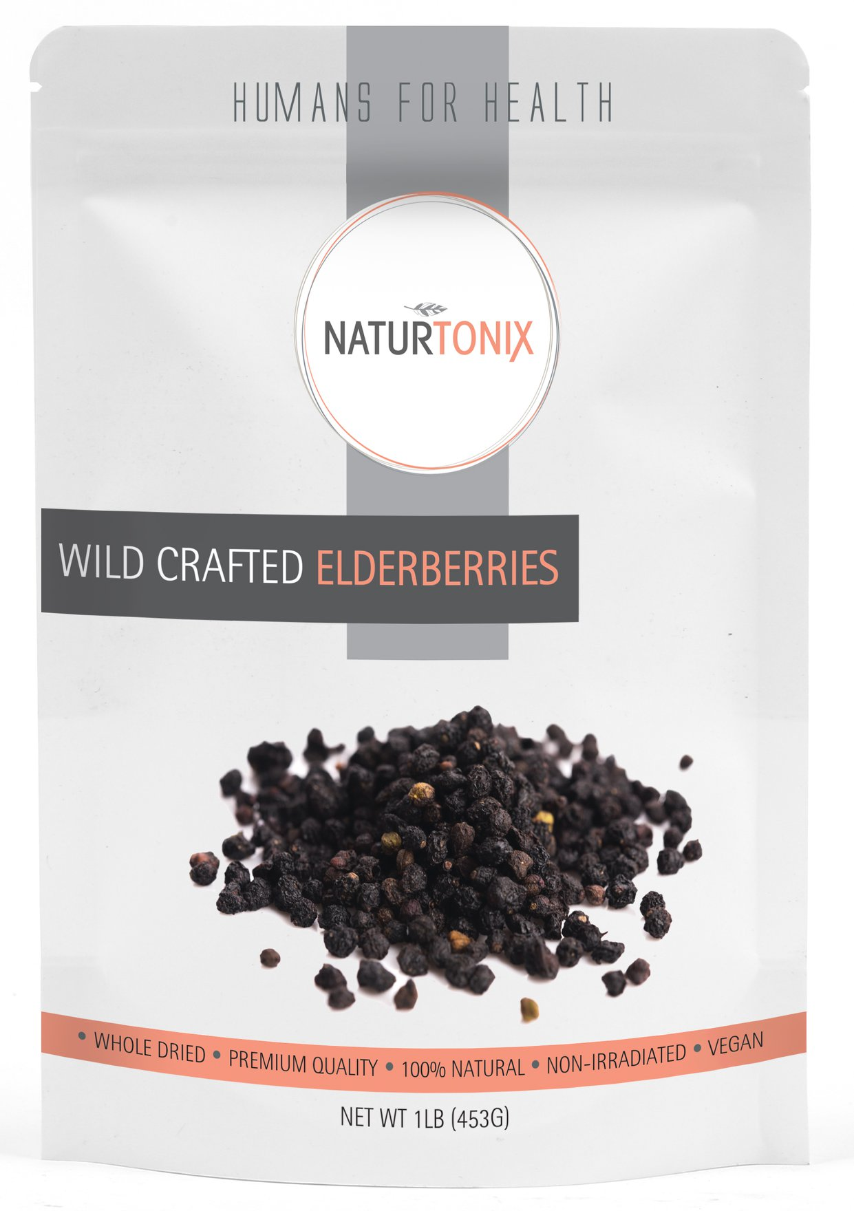 Naturtonix Dried Elderberries