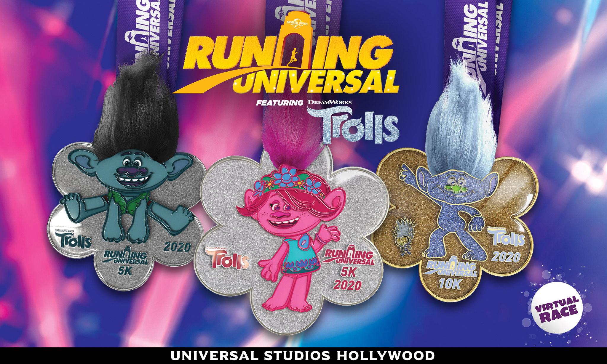 Running Universal - Trolls Virtual Race