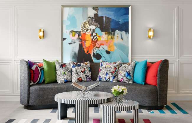 Le Parc Suite Hotel Unveils Stylish Transformation Centered on Love and Art