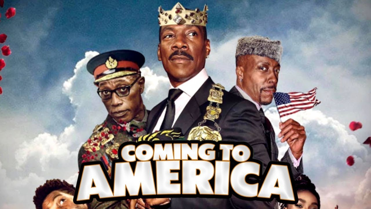 Coming 2 America from Paramount Pictures.