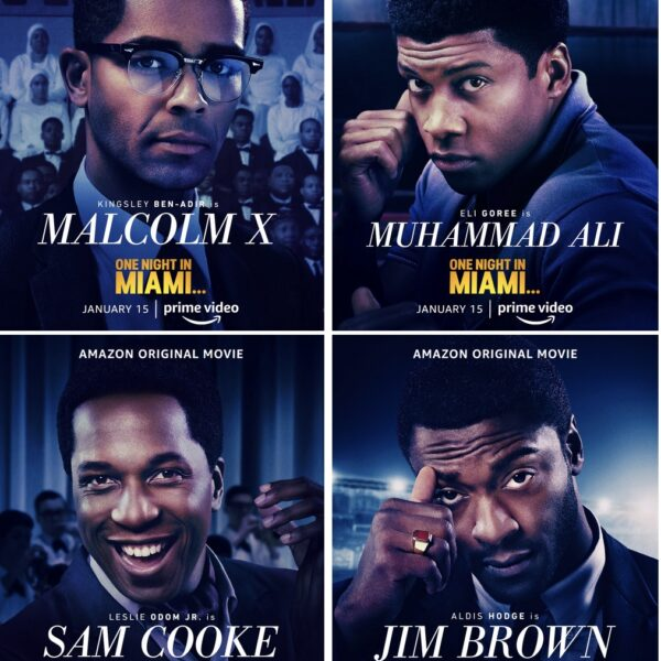 Sam Cooke Jim Brown Malcolm X