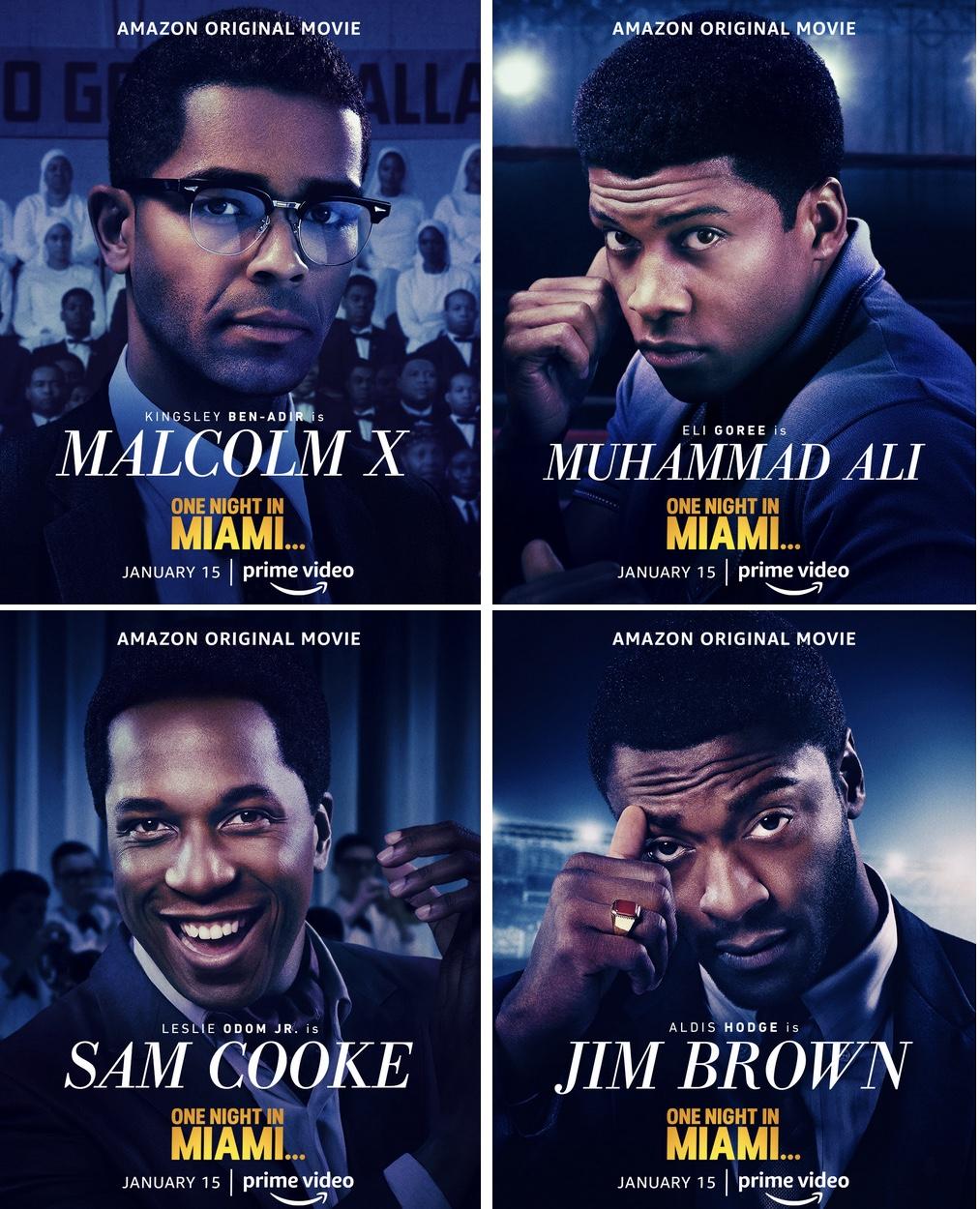 Sam Cooke Jim Brown Malcolm X