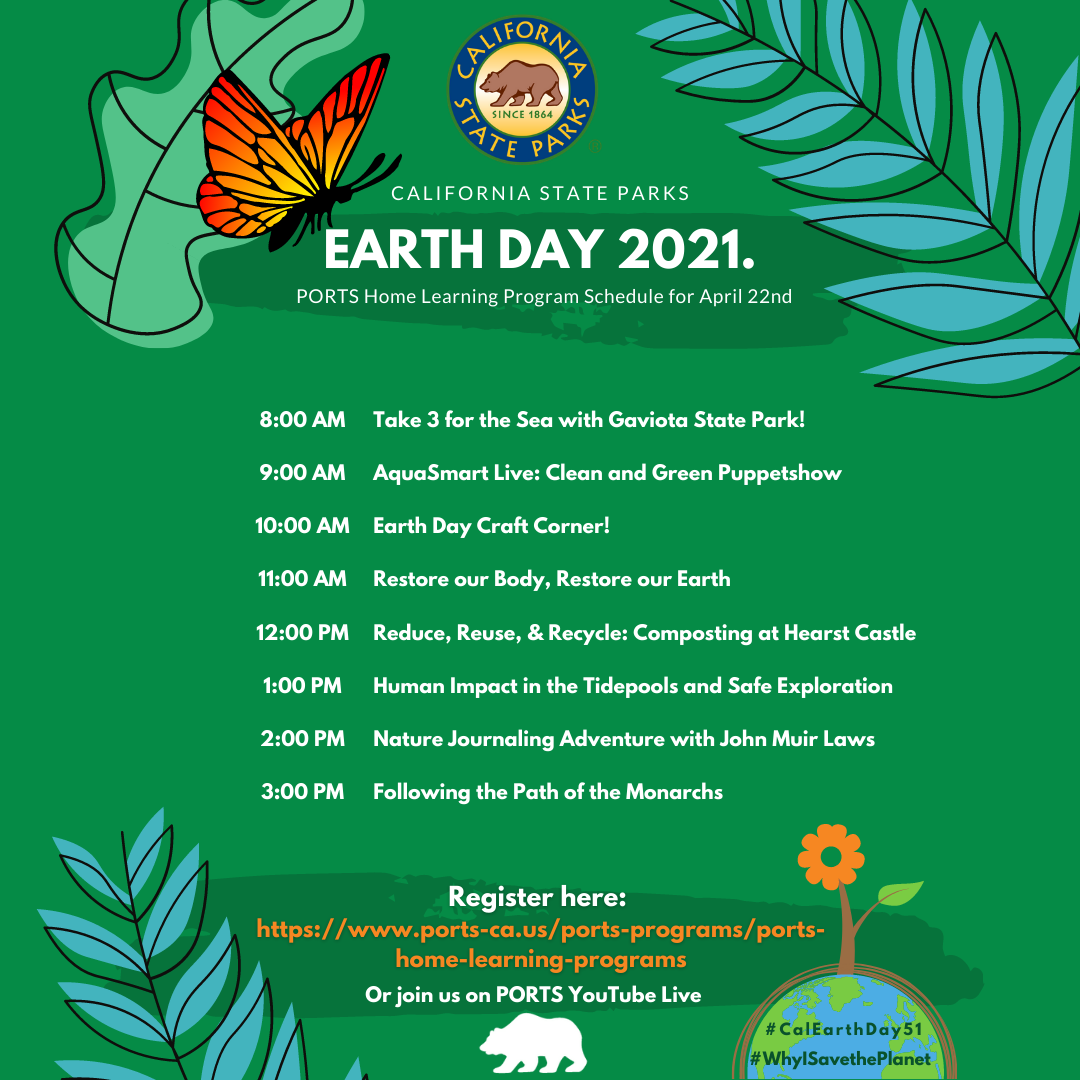 Earth Day 2021 Schedule