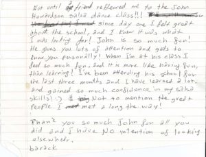 John Howardson Dance Reviews Barack Testimonial Page 2