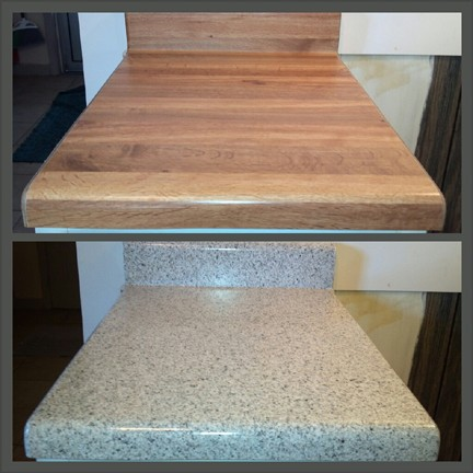 Butcher Block Kitchen Countertop
