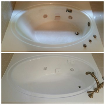 Acrylic Jetted Bathtub