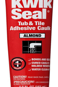 DAP Kwik Seal Tub and Tile Caulk - Almond