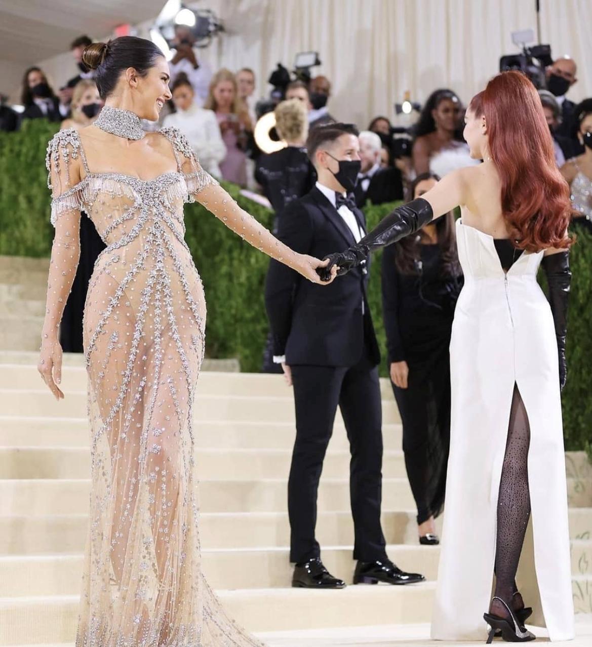 Kendall Jenner and Gigi Hadid Met Gala 2021