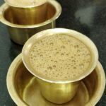 Chennai coffee started the day.