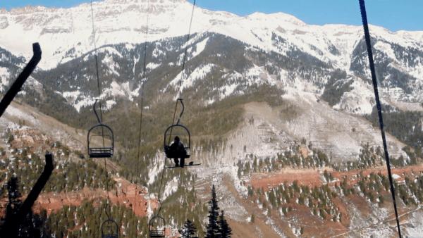 TELLURIDE ski lift