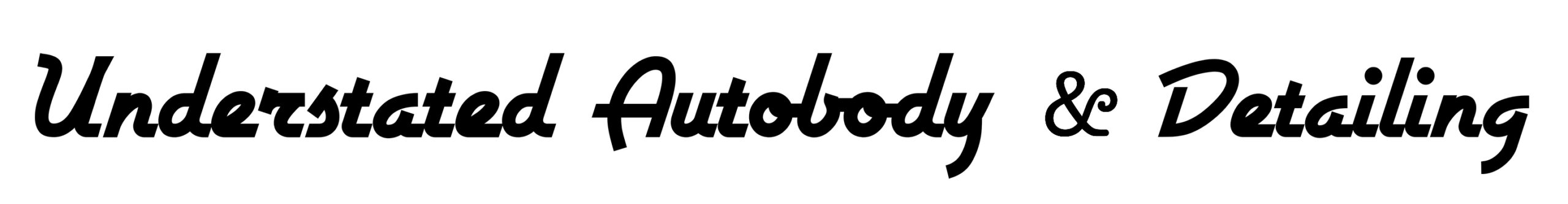 Understated Auto and Detail Logo copy