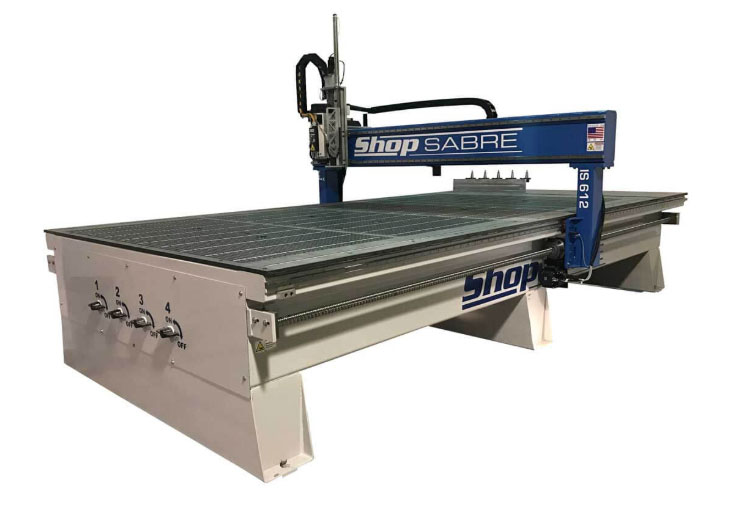 Large bed router